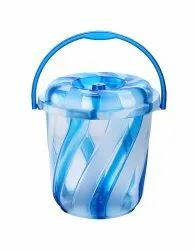 Plastic Spiral Bucket 8 Ltr