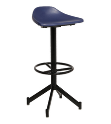 Montar Bar Blue and Black Stool