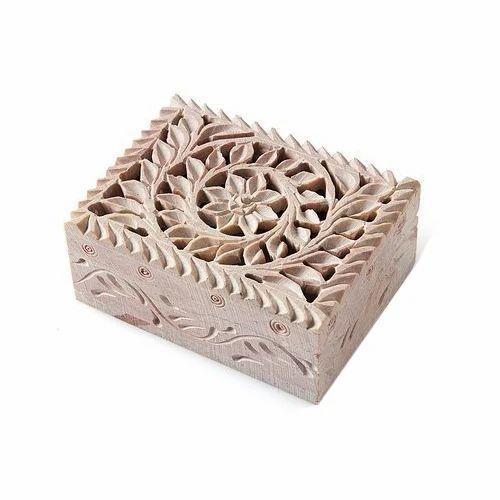 Soapstone Jewelry Box