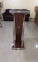 Readat Wooden Cum Steel Podium