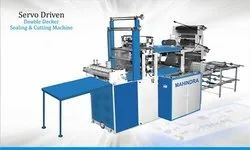 double decker cutting and sealing machine