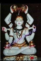 Marble God Statue Maha Mrityunjaya