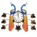 Peacock Clock