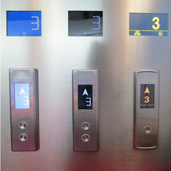 Elevator Touch COP LOP, For Industrial Premises