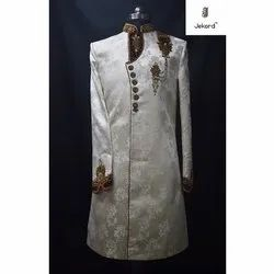 Wedding Men Indo Western Sherwani, Size: 34-46