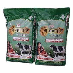 Shree Ganpati Maize Oil Cake, Packaging Type: PP Bags