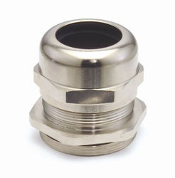 Nickle Plated Brass Cable Gland With Pg Thread For Unarmored