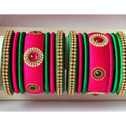 Wedding Type Silk Thread Bangle
