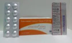 20 Mg Rosuvastatin Calcium Tablets IP