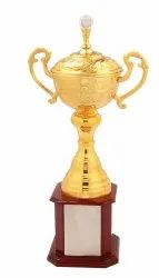 Diamond Gold Plated Cup Trophy