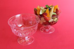 PS 13 Disposable Ice Cream Stemmed Dessert Bowl