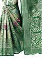 Party Wear Jacquard Silk Saree