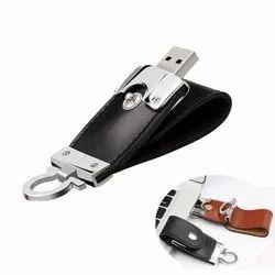 Wemake Leather Key Ring USB Pendrive