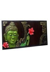 Gautam Buddha Holding Flower -Mural Painting