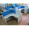 Plywood Office Workstation