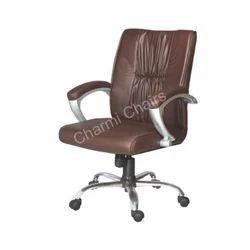 Leather Medium Back Executive Chair