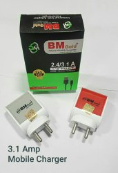 Bm Gold 3.1 amp USB Adapter