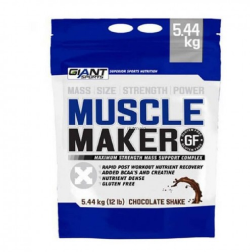 58996a8d Giant Sports Muscle Maker 12 Lbs Chocolate