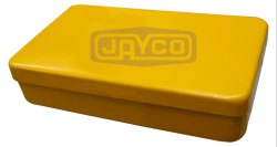 Rectangular / Square Plain Box Aluminium Lunch Box