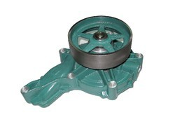 Green Volvo FM 9 Water Pump Assembly