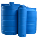 Cylindrical Stainless Steel Water Storage Tank