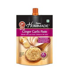 Hommade Ginger Garlic Paste