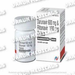 Danavir R 600 ( Darunavir & Ritonavir)