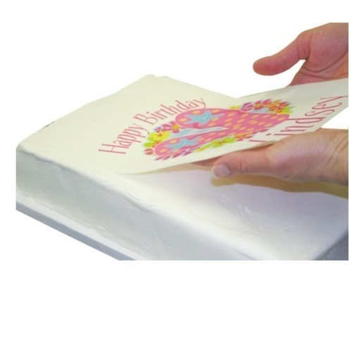 Printed Frosting Sheet