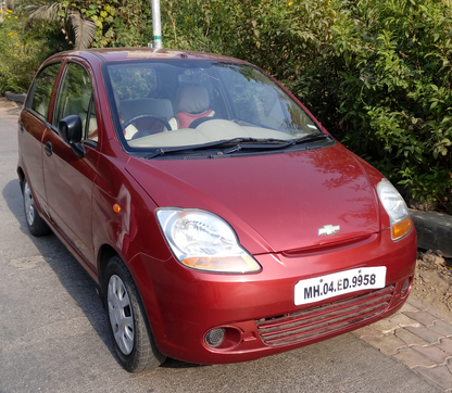 chevrolet spark ls red second hand car at rs 120000 /number | old
