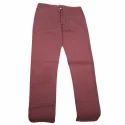 Mens Regular Fit Cotton Lycra Pant