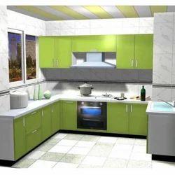 ABP Moduler Multicolor Kitchen Wardrobe