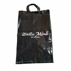 Printed Plastic Loop Handle Bag, Packaging Type: Packet