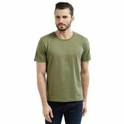 Men''s Round Neck Plain T Shirt