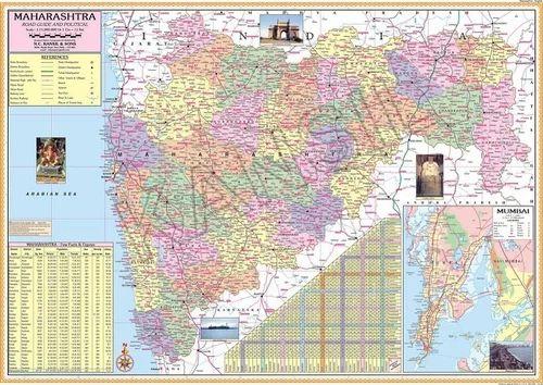 Maharashtra For Political State Map on ajanta on map, goa map, bihar map, india map, nagaland map, arunachal pradesh map, madhya pradesh map, kashmir map, andhra pradesh map, west bengal map, aurangabad map, nagpur map, chhatrapati shivaji international airport map, meghalaya map, pune region map, punjab map, gujarat map, palghar district map, tripura map, mumbai map,