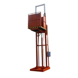 Easy Move Electric Goods Lift, Capacity: 1-2 ton