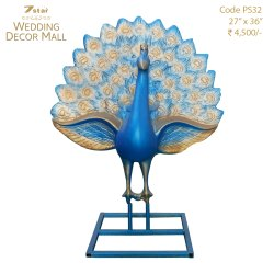 PS32 Peacock Sculpture