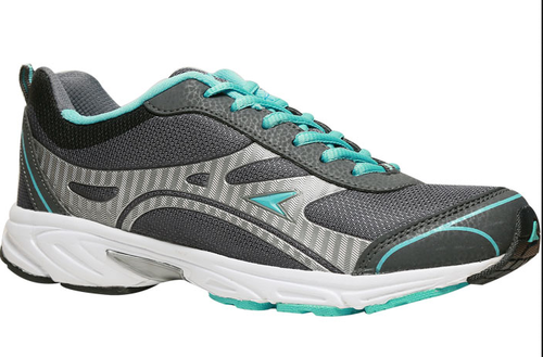 Bata Power Grey Sports Shoes For Women
