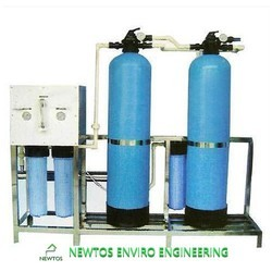 SS Powder coating Newtos 500 LPH RO Water Plant, , Domestic RO Plant