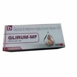Glipizide & Metformin Hydrochloride Tablets USP