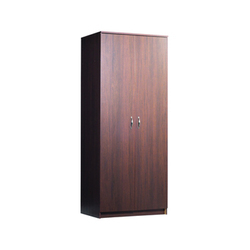 Walnut Finish Wardrobe