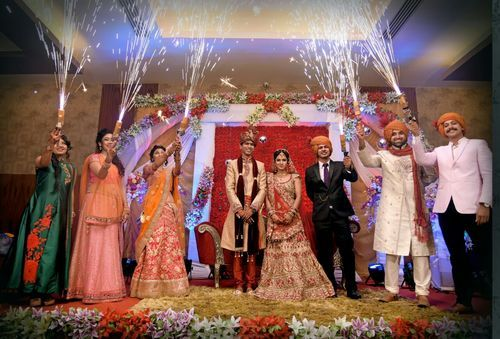 Wedding Hand Payro Bright And Broom Rs 680 Unit Sanjog Fire Works