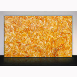 Orange Calcite Slab