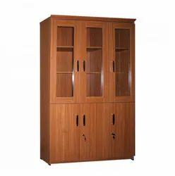 Melamine Faced Particle Board Brown Damro KOC 030 3 Door Cupboard