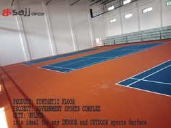 Indoor and Outdoor Sport Flooring