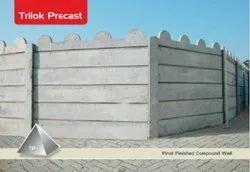 Heavy Precast Compound Wall