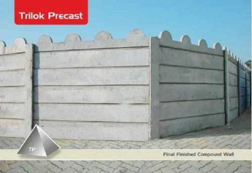 Trilok Precast, Raipur - Manufacturer of Compound Walls and