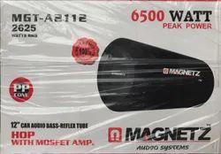 Balck Magnetz 10 Inch Car Bass Tube