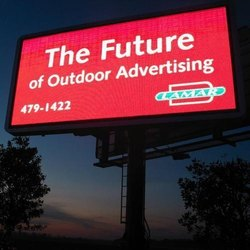 Rectangular LED Advertising Display Outdoor Stadium