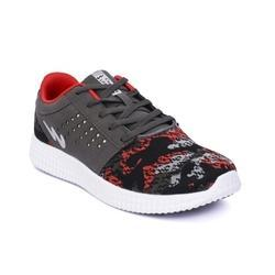 Campus 5G-X-8-R1-DGRY-BLK-RED BATTLE X-8 Men Running Shoes