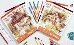 Student A4 Drawing Book, Packaging Type: Carton Box